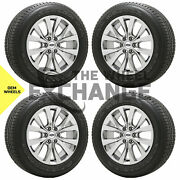 20 Ford F150 Truck Pvd Chrome Wheels Rims New Tires Factory Oem Set 4 10003
