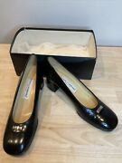 Dolce And Gabbano Vintage Shoes Pumps With Comfy Thick Heel Size 41/11