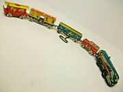 Marx Mickey Mouse Express Train Disney- 1950-n.mint-c9+ Condition + Tin Track