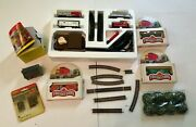 Vintage Bachmann Train Lot Engines N Scale Track Cars Assorted Set W/extra Cars