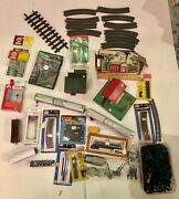Train Switches Engine Mixed Different Pieces Used Lot Tyco- Atlas -lgb- Marklin