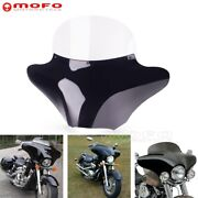 Street Bike Front Outer Batwing Windshield Fairing For Harley Kawasaki Choppers