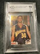 2009-10 Stephen Curry Rookie Panini Stickers 263 Bccg 10 Mint Or Better Rookie