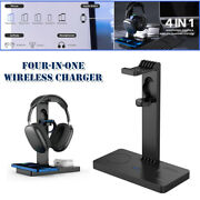 Multi-function Qi/qc3.0/pd3.0 Wireless Charger Mobile Phone Watch Headset Holder