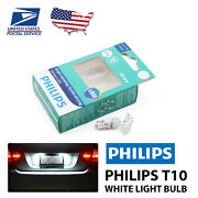 Philips Led Light 168 White 6000k Four Bulb License Plate Tag Replace Halogen