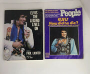 Elvis The Legend Lives On Edited By Paul Lichter 1977 King / People 1980 B13