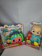Cocomelon Singing Jj Toy Set With Jj Doll And Watermelon Musical Dr Kit