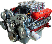 427 Small Block Ford Stroker Crate Engine Borla Stack Injection Holley Turn-key