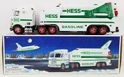 Hess Toy Truck And Space Shuttle With Satellite 1999 New