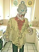 Halloween Prop Twilight Twitcher Old Retired Prop. Animated Zombie. As Is Read.
