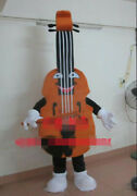 Violin Mascot Costume Suit Cosplay Party Game Dress Outfits Clothing Advertising