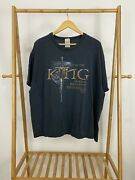 Vtg The Lord Of The Rings The Return Of The King Of Kings Jesus T-shirt 2xl Rare