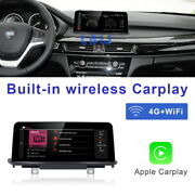 8-core Android 10 Car Gps Navigation Head Unit Wireless Carplay For Bmw F15 Nbt