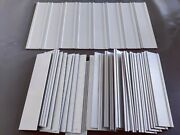 Bulk Lot 37 Qty Office Wall Name Plate Holder - 2 X 8. New Fast Shipping