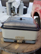 Vintage 1940s Everhot Oven Roaster Radiant Wall Spatter Free Broiler Grill