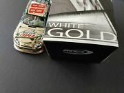 Andnbsp2012 Signed Dale Earnhardt Jr Elite Diet Mountain Dew White Gold 1 Of Only 48