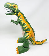 Fisher Price Imaginext Mega Green T-rex 17 Dinosaur Roars, Moves And Lights