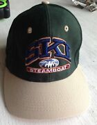 Ski Steamboat Skiing Ball Cap Hat Embroidered Head