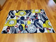 Awesome Rare Vintage Mid Century Retro 70s 60s Psychedelic Large Lions Fabric