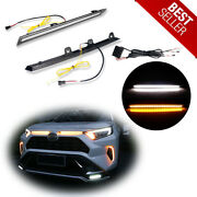 Sequential Switchback Led Turn Signal Drl Lights For 2019 2020 2021 Toyota Rav4