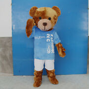 Bear Mascot Costume Suits Cosplay Party Game Dress Outfits Xmas Easter Fursuit A