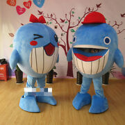 Fish Mascot Costume Suits Cosplay Party Dress Outfits Clothing Promotion Adults