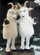 Sheep Mascot Costume Suits Cosplay Party Dress Outfits Xmas Easter Adults 2019 A