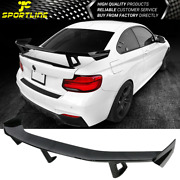 Ikon Universal 3 Post Rear Trunk Spoiler Wing Gloss Black Abs - 63in X 9in