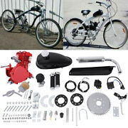 80cc 2 Cycle Gas Motor Motorized Engine Bike Bicycle Moped Scooter Kit Us Stock