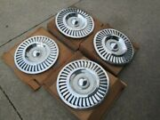 Vintage Set Of 4 Nos 1957 Ford Hubcaps In Original Ford Boxes. 14 Hubcaps