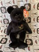Original Retired The End Ty Beanie Baby Bear 1999