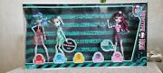 Monster High Skull Shores Set Cleo, Draculaura, Frankie, Clawdeen, Ghoulia