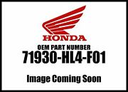 Honda 2018 Pioneer Sxs Seat Support Pipe 71930-hl4-f01 New Oem
