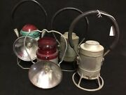 Vintage Rail Road/ Miners Lanterns 4 Avail Pick 1 Or All