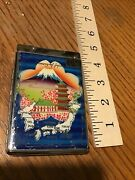 Vintage Memory Of Japan And Korea Cigarette Case And Lighter Combo