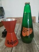 Vintage Beatles Collectible, The Beatles Rubber Soul Groovy Lava Lamp No Top