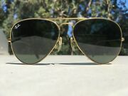 Vintage 1980s Aviators 5814, W/ Nos G15 Lenses And Ear Tips, 2 Cases