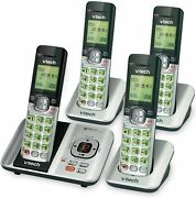 Vtech Dect 6.0 Cordless Phone Answering System Caller Id Call Waiting 4 Handsets
