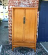 Chinese Antique 2 Doors Cabinet Wardrobe / Armoire