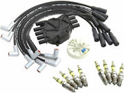 Distributor Cap Rotor Spark Plugs And Wires Kit For 1996-1999 Gmc K1500 T394yg