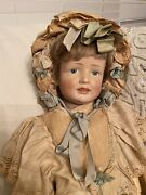 Prof. Repaired Rare Antique Simon And Halbig 151 German Bisque Character Doll
