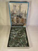Schmidt 3000 Piece Jigsaw Suzzle New York W/ Twin Towers 1986 Complete