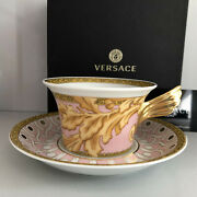 Versace Les Reves Byzantins Tea Cup And Saucer Celebrating 25 Years Rosenthal New
