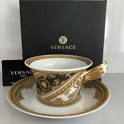 Versace I Love Baroque Tea Cup And Saucer Celebrating 25 Years Rosenthal New
