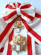 Spain - Order Of Air Force Merit Grand Cross White Distinction With Sash