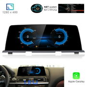 8-core Android 10 Car Gps Stereo Radio Wireless Carplay For Bmw 6 Series F06 F12