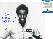 Nasa Astronaut Guion Bluford Signed 8x10 Photo Space Sts-8 Beckett Bas Coa