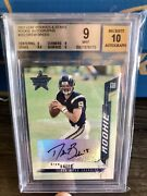 2001 Drew Brees Leaf Rookies And Stars Rc Auto 9 W/10 Auto Refractor