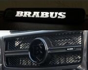 Mercedes G Class W463a 464 B Style Abs Illuminated Led Front Grille Badge Emb...