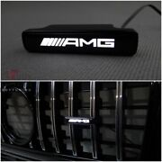 Mercedes G Class W464 463a Led Illuminated Logo Badge Amg Front Grille Plastic